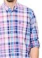 Kiğılı Kareli Gömlek Pembe